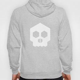 hex geometric halloween skull Hoody