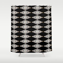 Moroccan mosaic Shower Curtain