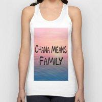 ohana Tank Tops featuring Ohana by Amy Copp