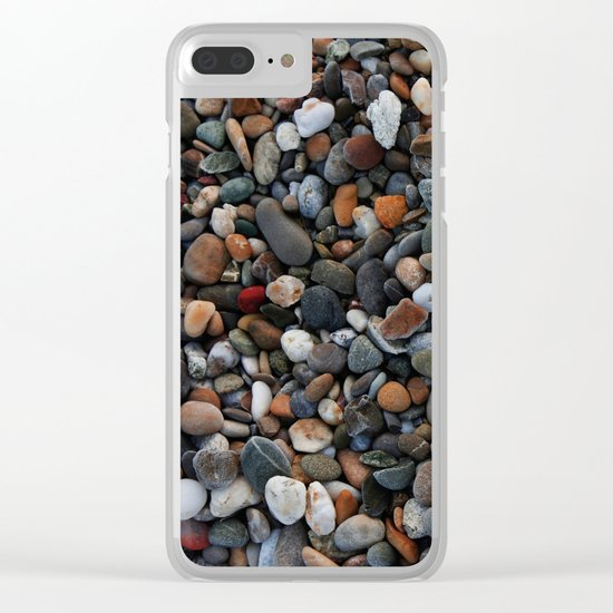 Stone multicolored Clear iPhone Case