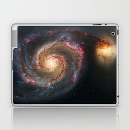 Whirlpool Galaxy and Companion Galaxy Laptop & iPad Skin