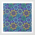 Fun Multicolored Whirligig Pattern by boutiquebijou