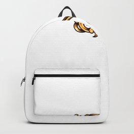 Golden Antique Elegant Key Backpack