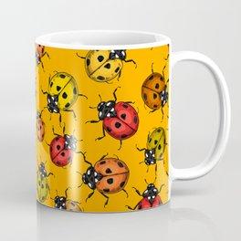 Colorful ladybugs Coffee Mug