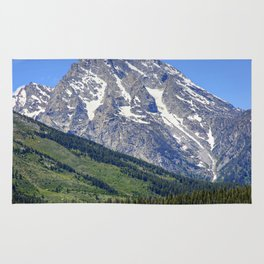 Grand Tetons Mountain and Slope Rug