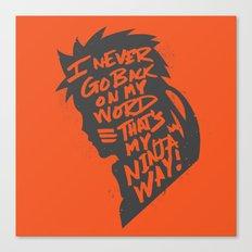 Will of Team 7 [Orange] Canvas Print