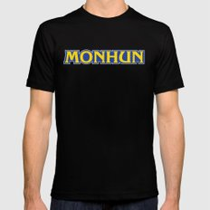 MONHUN Mens Fitted Tee Black SMALL