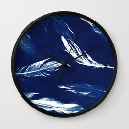 On A Feather Wall Clock
