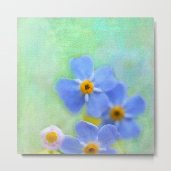 FORGETMENOT Metal Print