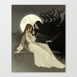 Spells of Shadow Canvas Print