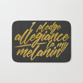 MELANIN PLEDGE Bath Mat