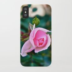 Pink Kiss iPhone X Slim Case