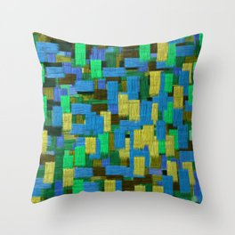 Twilight Musings Strong Strokes Throw Pillow