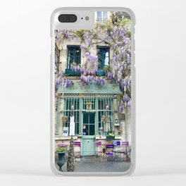 Au Vieux Paris Clear iPhone Case