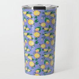 Purple lemons Travel Mug