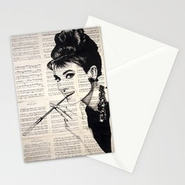 Audrey #1 Stationery Cards