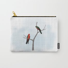 King Parrots Carry-All Pouch