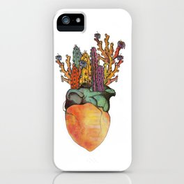 I Heart Cactus iPhone Case