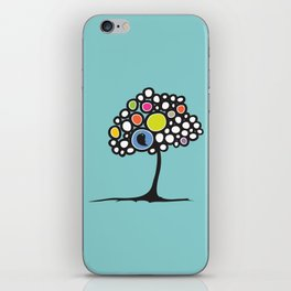 Bird on a tree iPhone Skin