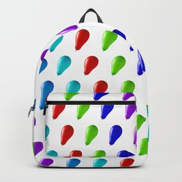 Multi Coloured Balloons. Backpack