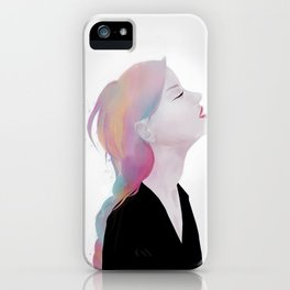 She claimed to be antique roses and lost dreams iPhone Case