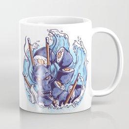 Sushi Dragon Japanese Art Coffee Mug