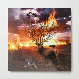 Tree of Death Metal Print