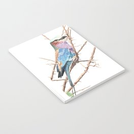 Lilac breasted roller Notebook