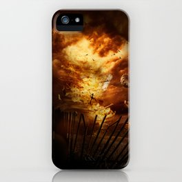 Firestorm iPhone Case