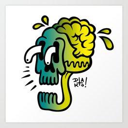 Calaca Art Print
