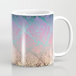Pink Beige Elephant Skin Coffee Mug