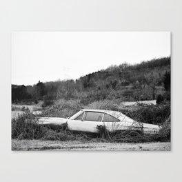 Car - Abandoned Dreams  Canvas Print