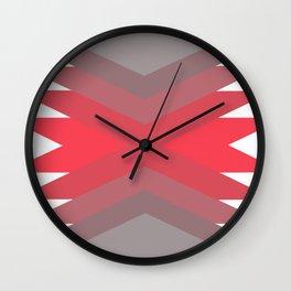 Pink Dream Pattern Wall Clock