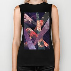 ROSES IN THE GALAXY Biker Tank