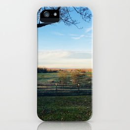 Invigorating Fall iPhone Case