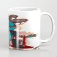 game of thrones Mugs featuring Game Of Cats ! 2 by Davoncornchip