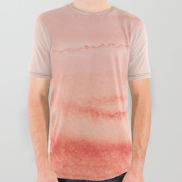 WITHIN THE TIDES - LIVING CORAL All Over Graphic Tee