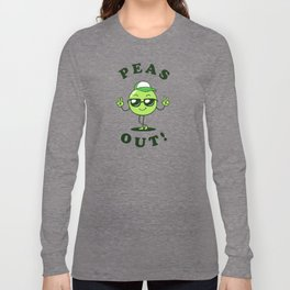 Peas Out Long Sleeve T-shirt