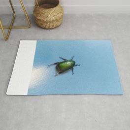 Jewelled beetle Rug
