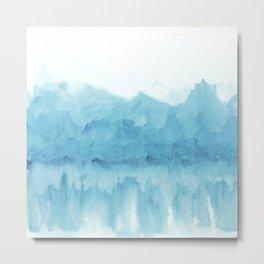 Ice Mountains Metal Print