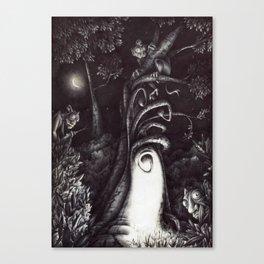 La casa degli Omini Canvas Print