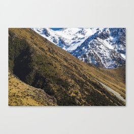 Sugar Loaf, Mt White Conservation Area, Canterbury, New Zealand Canvas Print