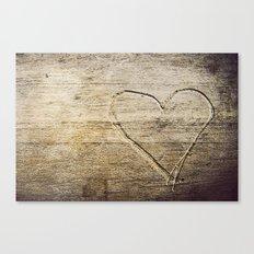 Amour Canvas Print