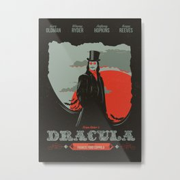 Dracula movie poster Metal Print