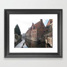 In Bruges... Framed Art Print