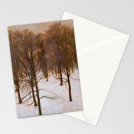 Sondermarken Park In Winter - Digital Remastered Edition Stationery Cards