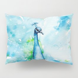 Peacocking Around Pillow Sham