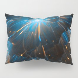 Bad Intentions: Abstract Space Explosions Pillow Sham