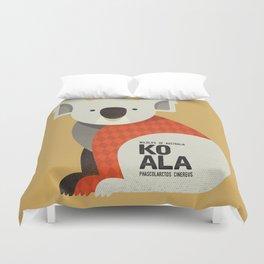 Hello Koala Duvet Cover