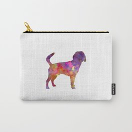 Beagle Harrier in watercolor Carry-All Pouch